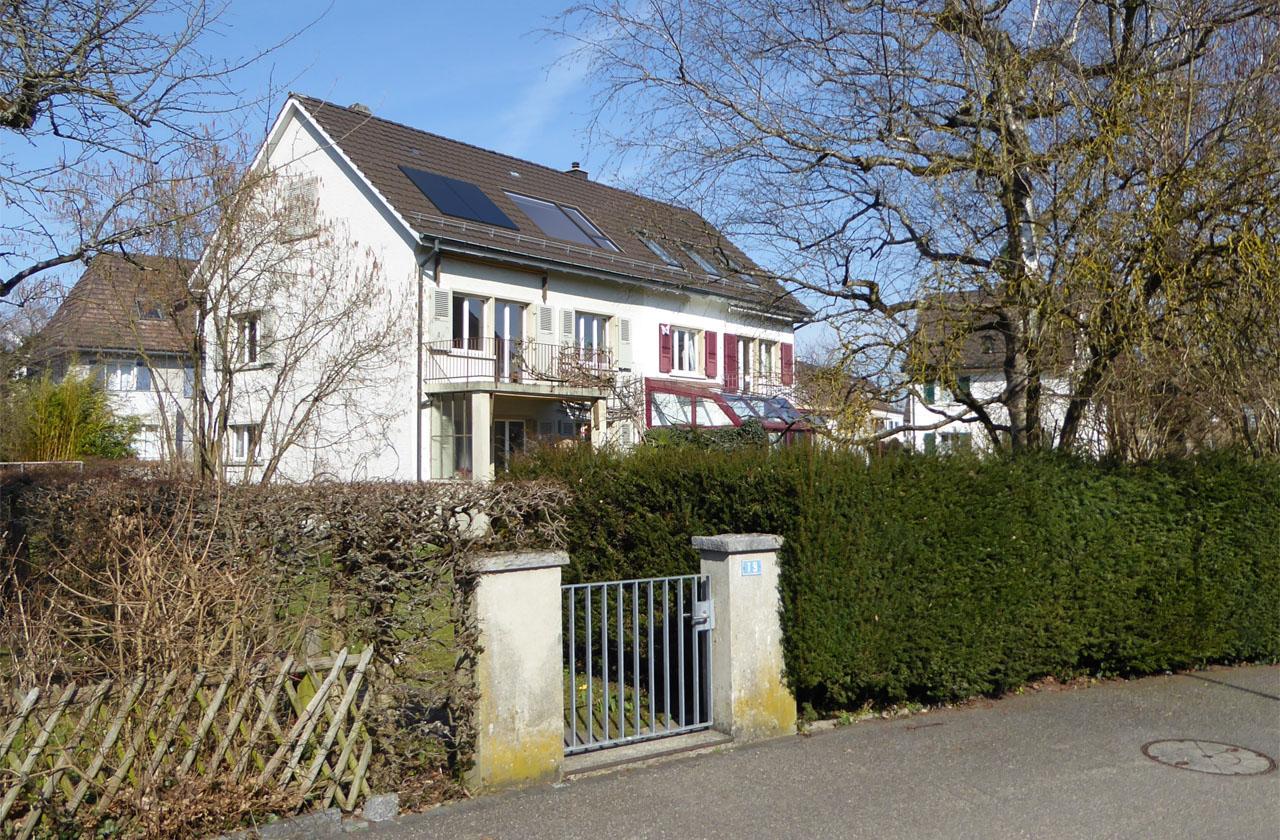 2bm architekten wohnhaus m ller solothurn for Mini wohnhaus